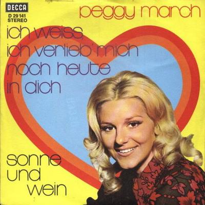 Peggy March - Carmen Aus Sevilla - Ich Schau In Deine Augen