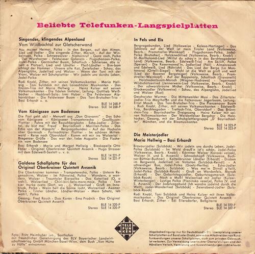 Detlef Engel - Laß' Mich Heute Nicht Allein / Du Bist Ja So Schön