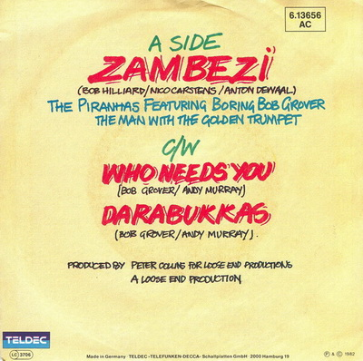 The Piranhas - Zambezi