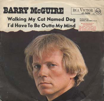 Walking My Cat Named Dog Barry Mcguire