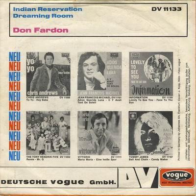 Don Fardon Gimme Gimme Good Lovin Sunshine Woman