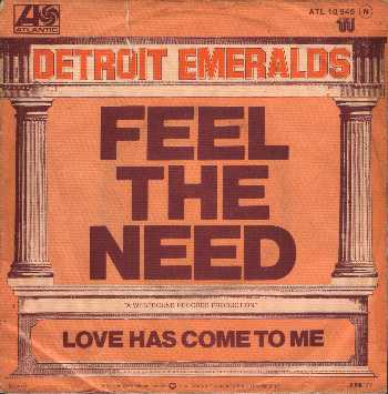 Detroit Emeralds - Yes - Feel The Need - Yessongs